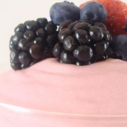 Raspberry Mousse-Base Yogurt Image