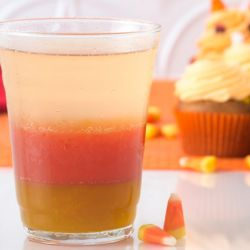 Candy Corn Mocktail Image