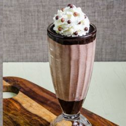 Chocolate Milkshake with Pino Pinguino® - Nero Image