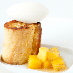 Pain Perdu with Cinnamon Gelato Image