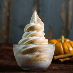 Pumpkin Spiced Cheesecake Soft Serve Image