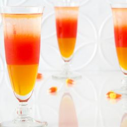 Mediterranean Candy Corn Cocktail Image