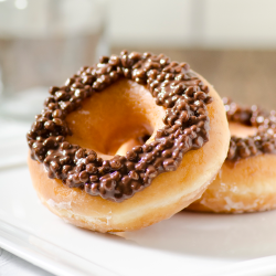 Milk Chocolate Crunch Donuts Image
