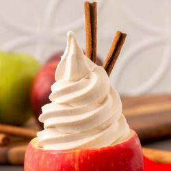 Spiced Apple Cider Soft Serve Image