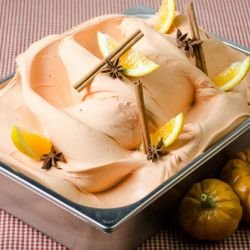 Spiced Pumpkin & Red Orange Gelato Image