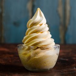 Pumpkin Spice Soft Serve Image