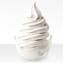 Cream-Flavored Soft Serve (Super Sprint) Image