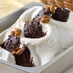 Chocolate Coconut Almond Gelato Image