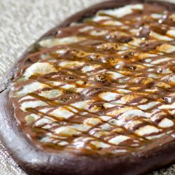 Chocolate Marshmallow Dessert Pizza Image