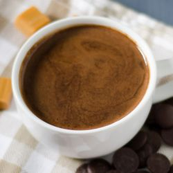 Salted Caramel Hot Chocolate Image