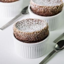 Chocolate Souffle (Prep Time: 20min.) Image