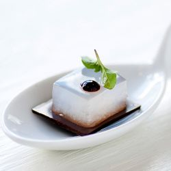 Chocolate Mint Petit Four Image