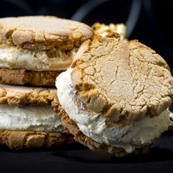 Cracker Jack Ice Cream Cookie Sandwich Image