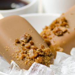 Coffee Coated Frozen Pops Image