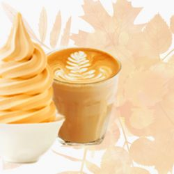 Pumpkin Spice Latte Soft Serve
